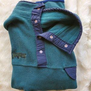 Jansport Fleece Pullover Quarter Zip